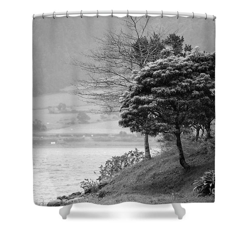 Azoren Shower Curtain featuring the photograph Sete Cidades Lakes by Gaspar Avila