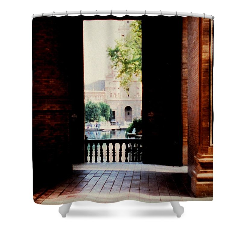 Seville Shower Curtain featuring the photograph Seville by Ian MacDonald