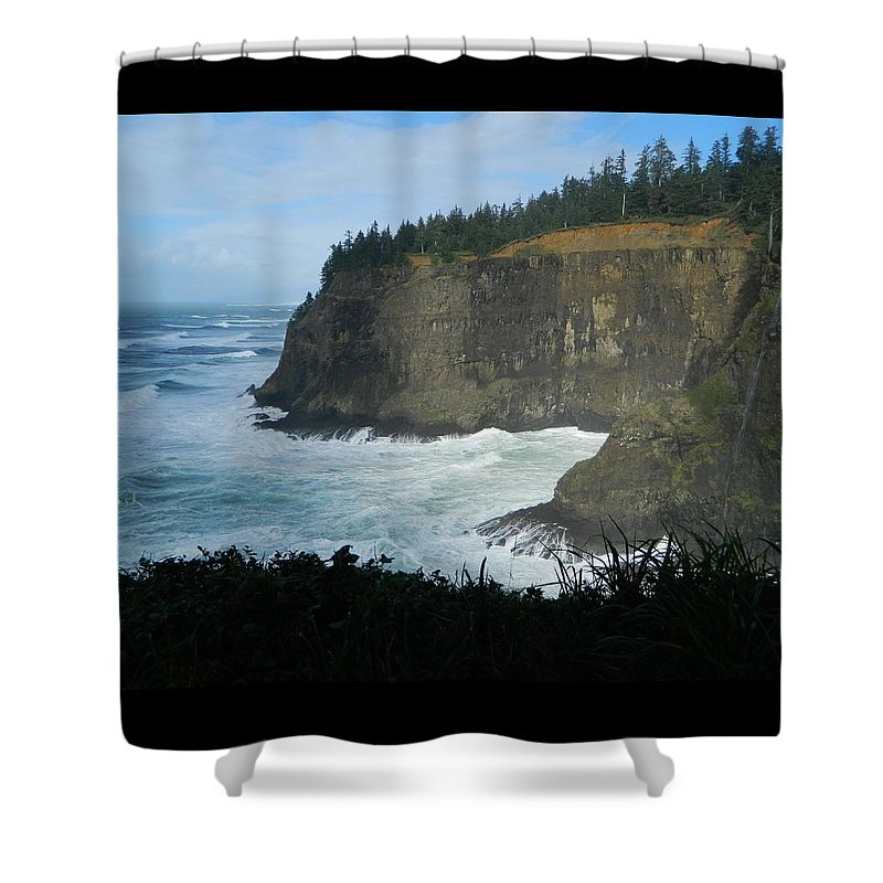 Oregon Shower Curtain featuring the photograph Shadows by Gallery Of Hope