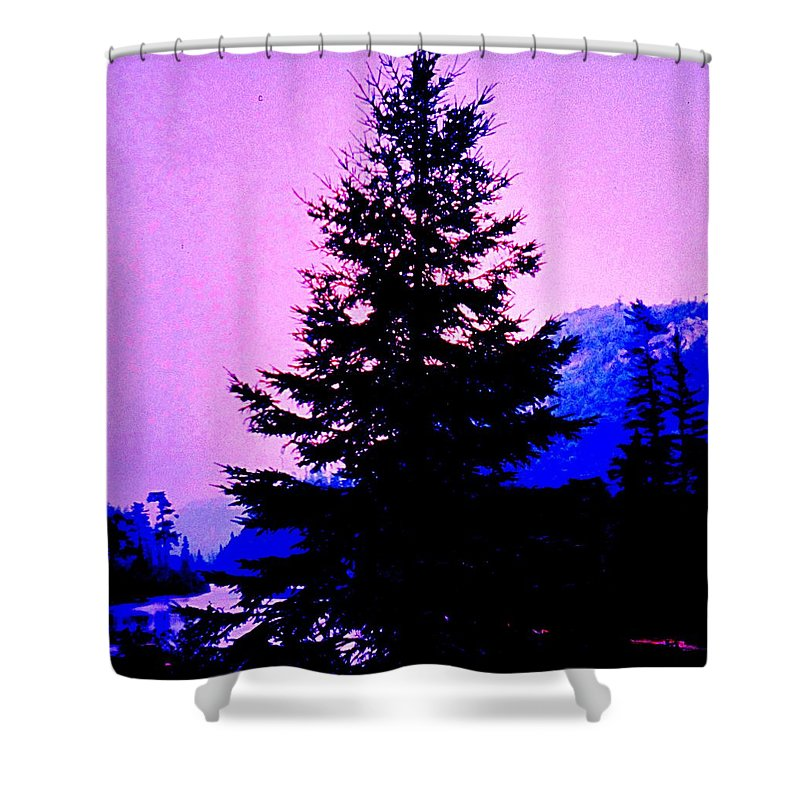 Agawa Shower Curtain featuring the photograph Shadows In The Canyon by Ian MacDonald