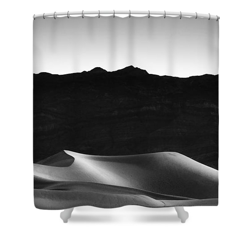 California Shower Curtain featuring the photograph She Sleeps On Her Side by Peter Tellone