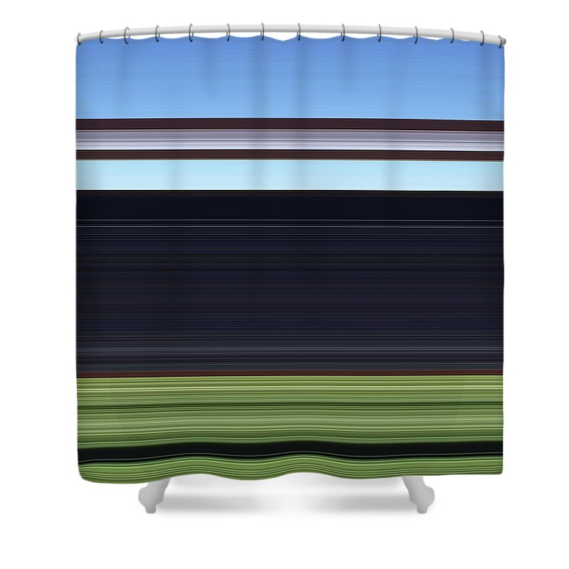 Digital Art Shower Curtain featuring the photograph Shear54 by Kevin Cote