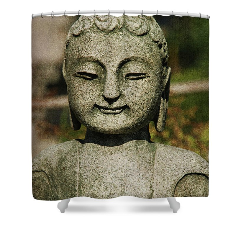 Shiva Shower Curtain featuring the photograph Shiva by Susanne Van Hulst