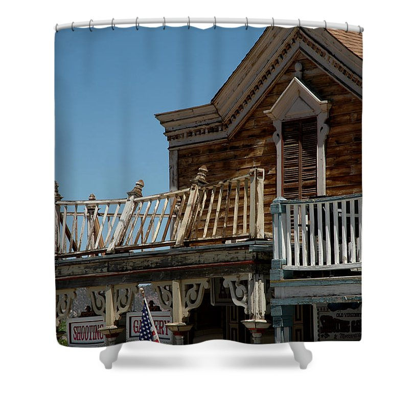 Usa Shower Curtain featuring the photograph Shooting Gallery by LeeAnn McLaneGoetz McLaneGoetzStudioLLCcom