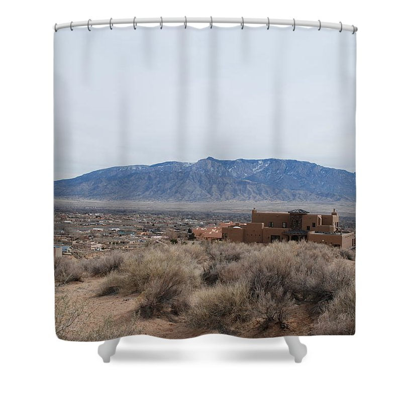 Mountians Shower Curtain featuring the photograph Shoulda Coulda Woulda by Rob Hans