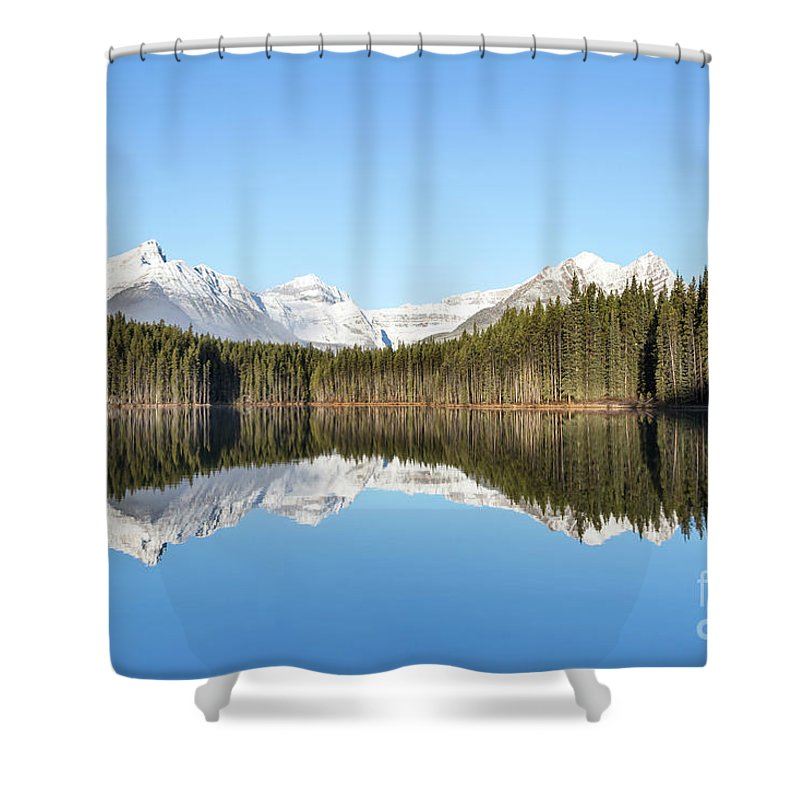 Kremsdorf Shower Curtain featuring the photograph Silence Of North by Evelina Kremsdorf