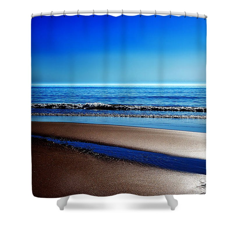Sylt Shower Curtain featuring the photograph Silent Sylt by Hannes Cmarits