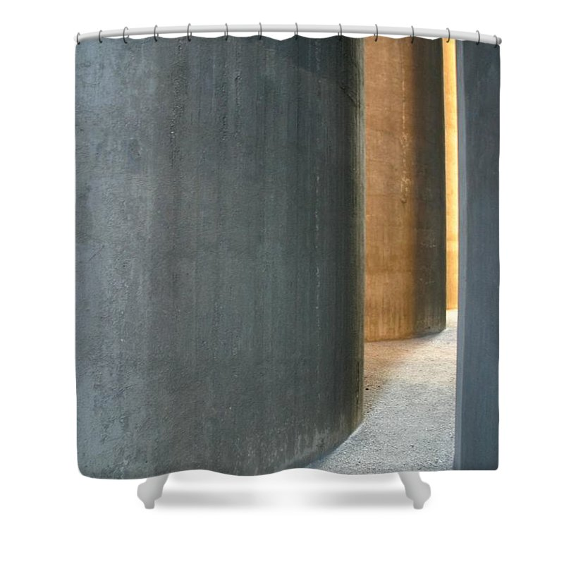 Silver Shower Curtain featuring the photograph Silver And Gold In Belgium by Minaz Jantz
