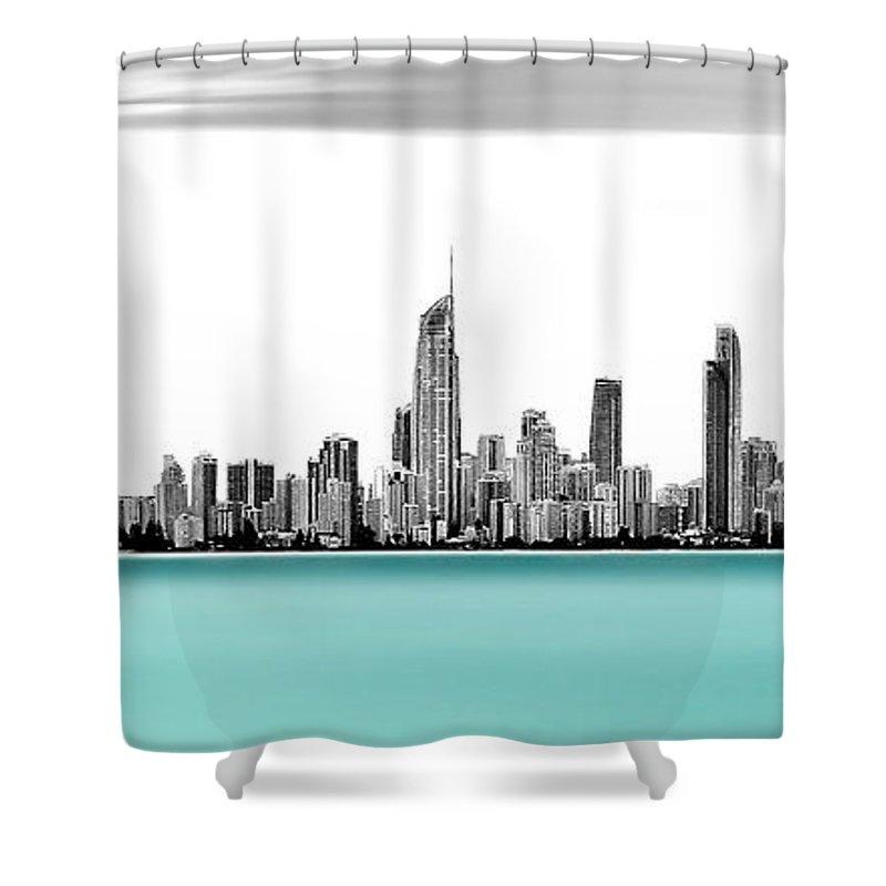 Pacific Ocean Shower Curtains