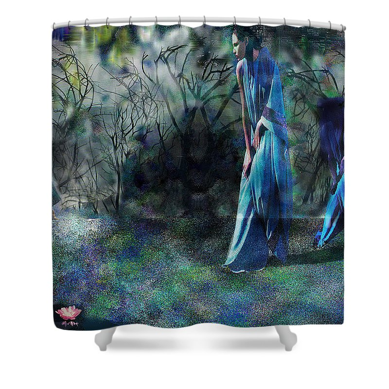 Sisters Of Fate Shower Curtain featuring the photograph Sisters Of Fate by Seth Weaver