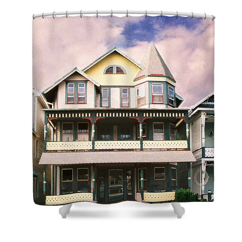 Landscape Shower Curtain featuring the photograph Sisters Panel Three Of Triptych by Steve Karol