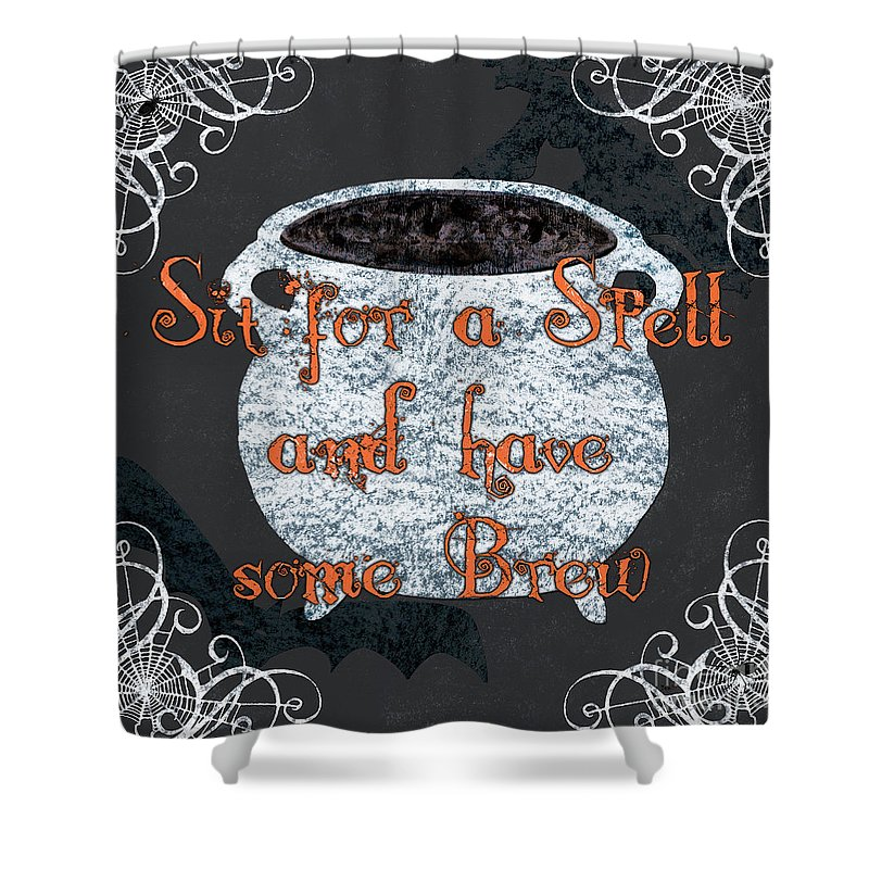 Witches Brew Shower Curtains