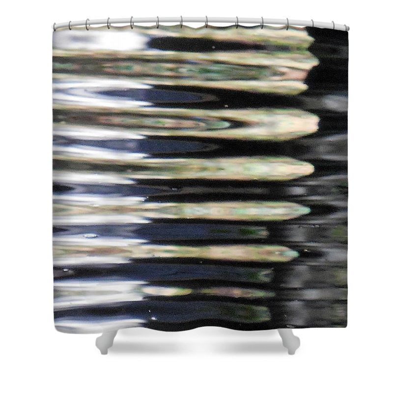 Slabs Shower Curtain featuring the photograph Slabs by Chris Gudger