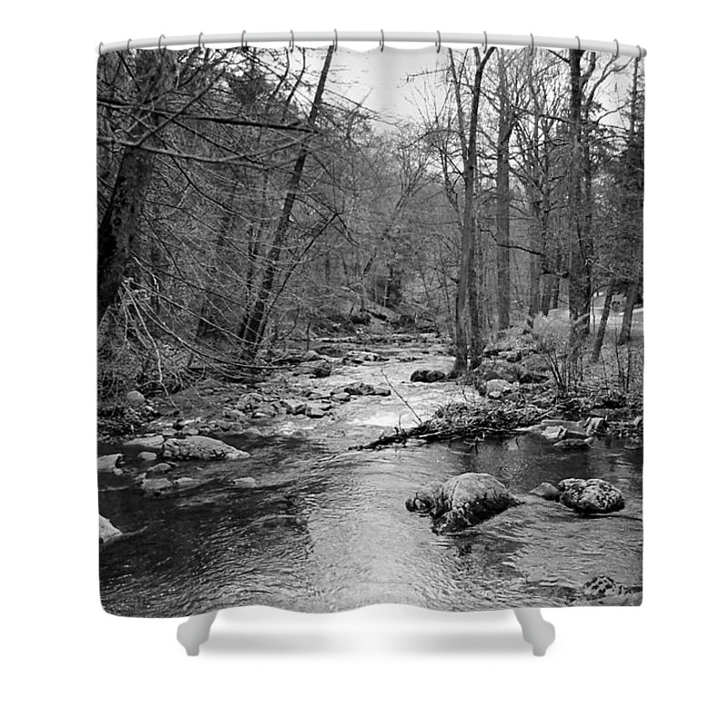 Landscape Shower Curtain featuring the photograph Sleepy Hollow Cemetary by Joseph Mari