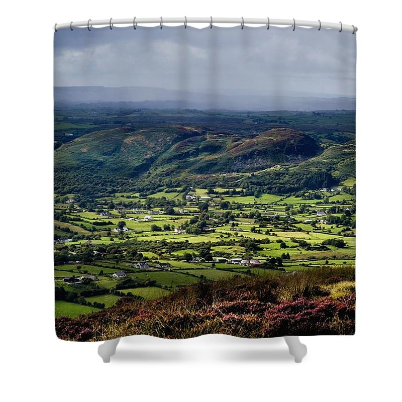 Beauty In Nature Shower Curtain featuring the photograph Slieve Gullion, Co. Armagh, Ireland by The Irish Image Collection