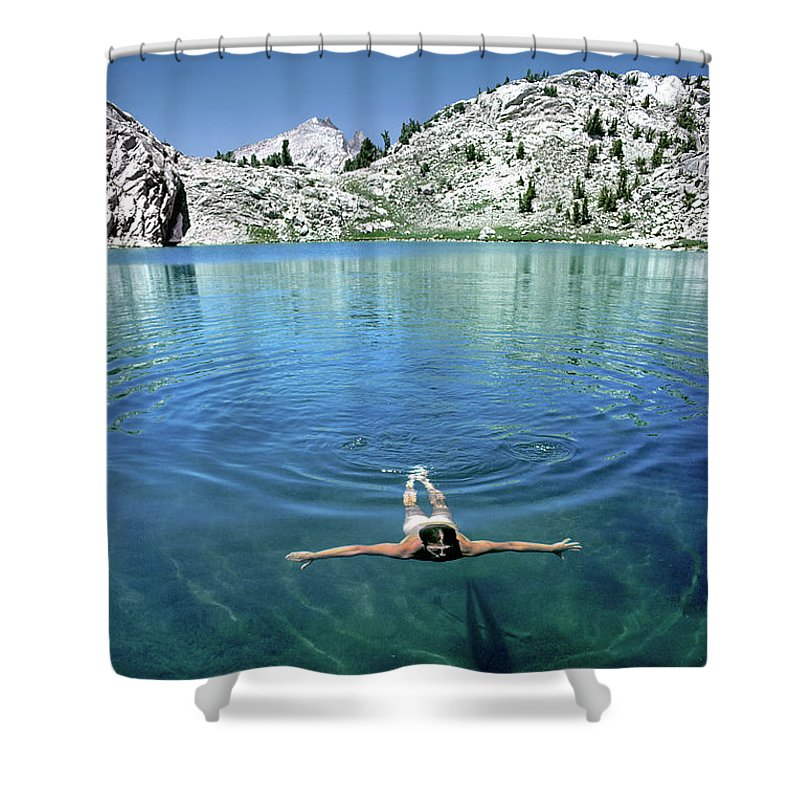 The Walkers Shower Curtain featuring the photograph Slip Into Something Comfortable by The Walkers