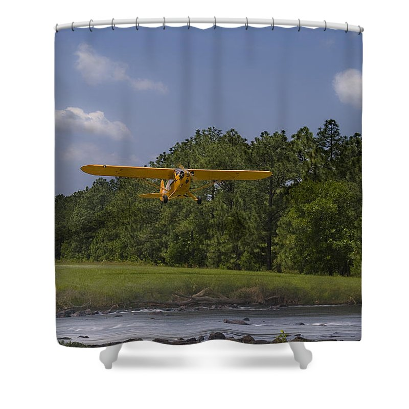 Cub Shower Curtain featuring the photograph Slow And Low by Steven Richardson