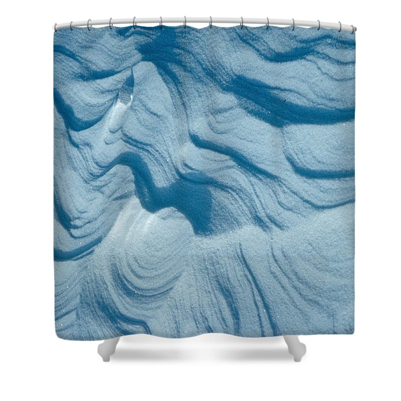 Snow Shower Curtain featuring the photograph Snow by Flavia Westerwelle