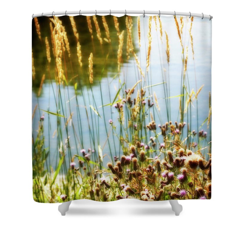 Soft Shower Curtain featuring the photograph Soft And Surreal by Marilyn Hunt