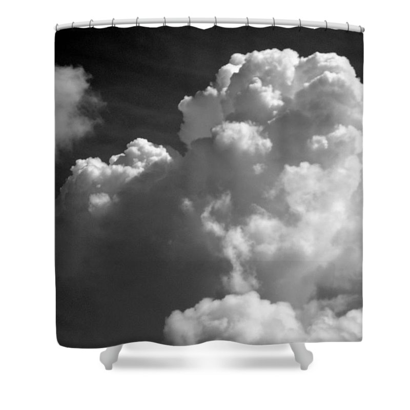Sky Shower Curtain featuring the photograph Soft Clouds by Arlane Crump