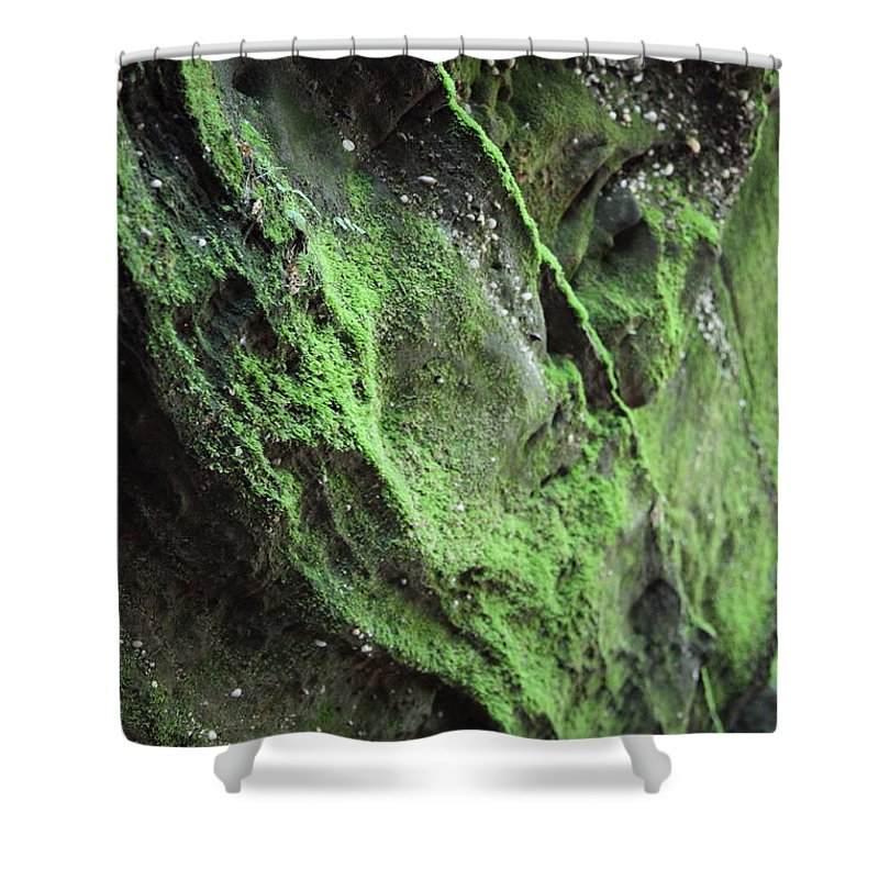 Rocks Shower Curtain featuring the photograph Soften The Moment by Amanda Barcon