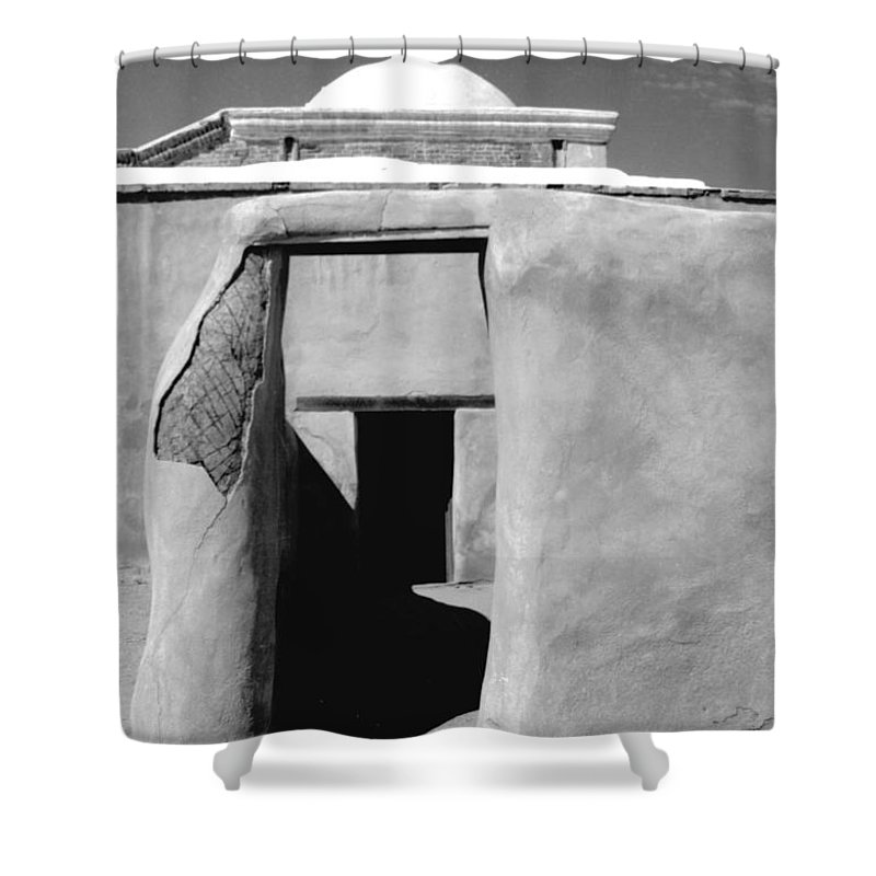 Shadows Shower Curtain featuring the photograph Sol Y Sombra by Kathy McClure