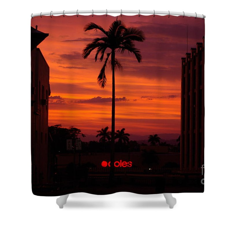 Innisfail Shower Curtain featuring the photograph Solitary Passage by Kerryn Madsen- Pietsch