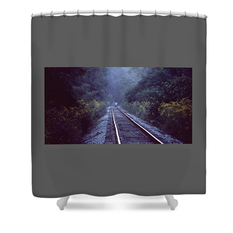 Walking Shower Curtain featuring the photograph Solitude 031307-66 by Mike Davis