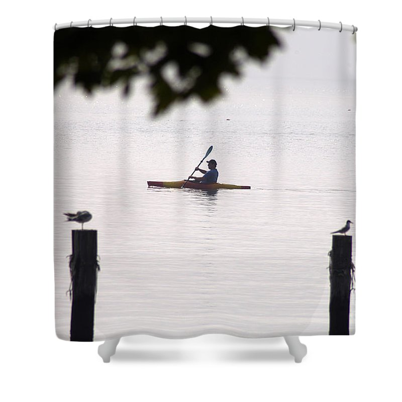 Clay Shower Curtain featuring the photograph Solitude by Clayton Bruster