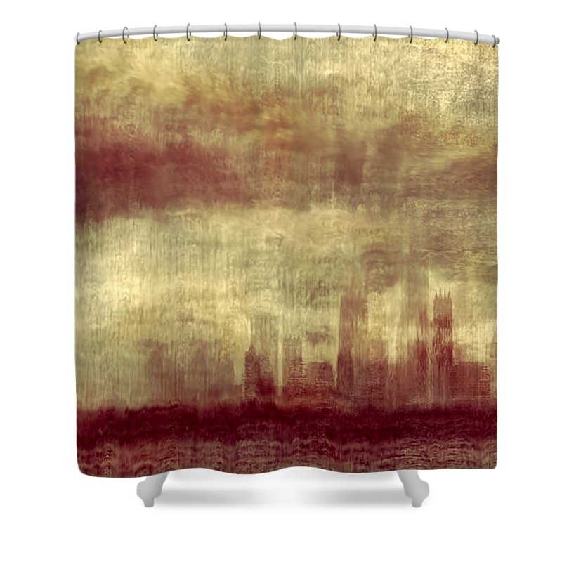 Clouds Shower Curtain featuring the photograph Someone To Hold You Beneath Darkened Sky by Dana DiPasquale