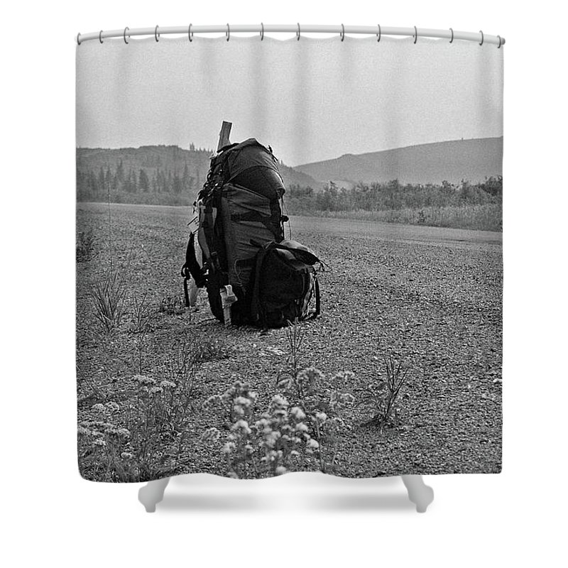 Canada Shower Curtain featuring the photograph Somewhere In Nowhere ... by Juergen Weiss