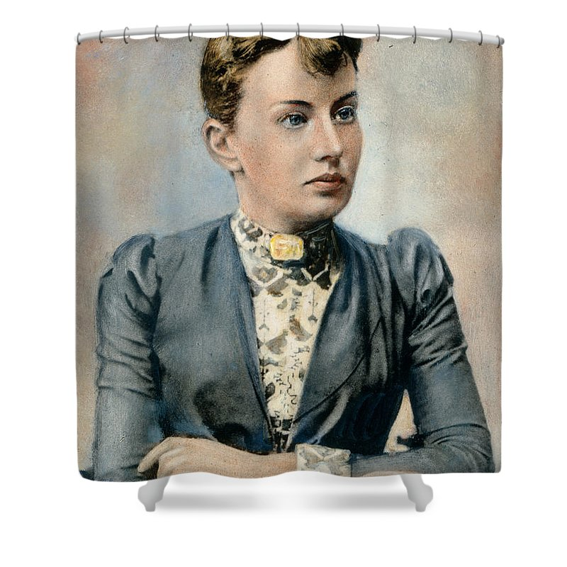 19th Century Shower Curtain featuring the photograph Sonya Kovalevsky (1850-1891) by Granger