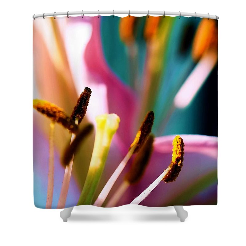 Flower Shower Curtain featuring the photograph Souls by Mitch Cat
