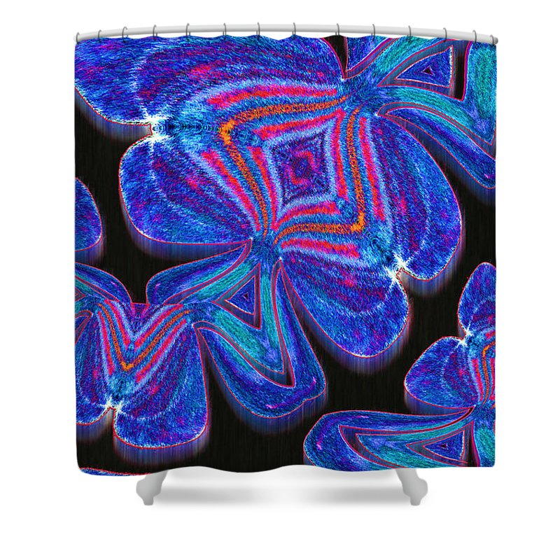 Photography Shower Curtain featuring the photograph Spades by Paul Wear