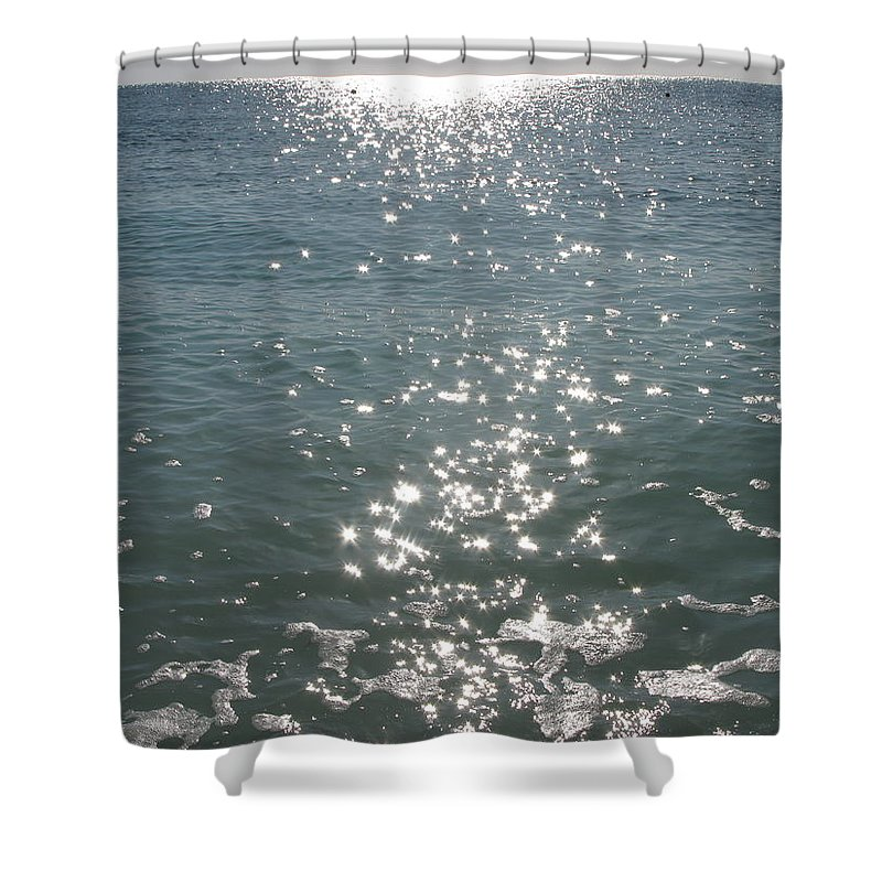 Italy Shower Curtain featuring the photograph Sparkles by Maria Joy