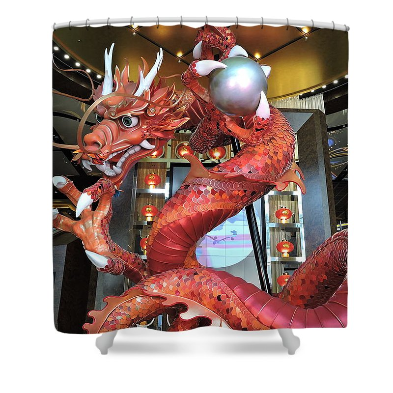 Attraction Shower Curtain featuring the photograph Spin by Trevor Whitehead