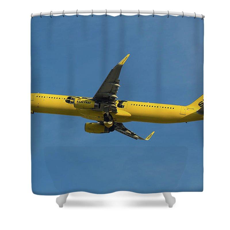 Spirit Air Shower Curtain featuring the photograph Spirit Air by Dart Humeston