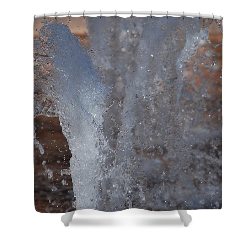 Water Shower Curtain featuring the photograph Splash by Rob Hans