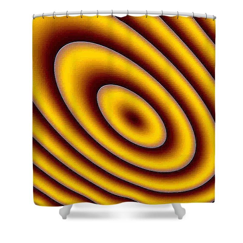 Fractals Shower Curtain featuring the digital art Spot 1 by Dragica Micki Fortuna