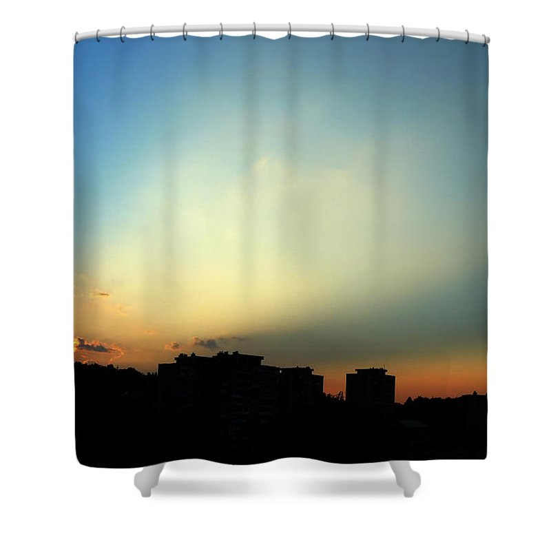 Nature Shower Curtain featuring the photograph Spotlight by Daniel Csoka