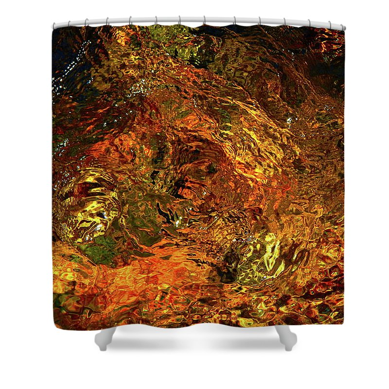 Color Close-up Landscape Shower Curtain featuring the photograph Spring 2017 157 by George Ramos