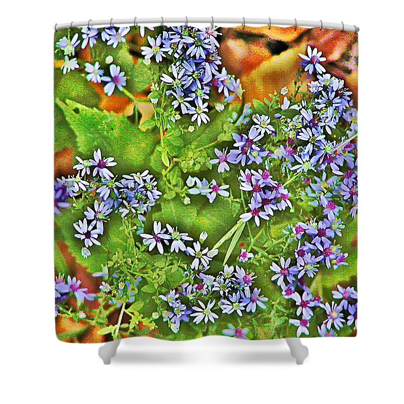 Flower Shower Curtain featuring the photograph Spring by Bill Cannon