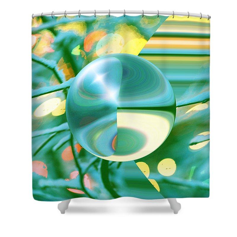 Inna Nedzelskaia Shower Curtain featuring the digital art Spring Dream by Inna Nedzelskaia