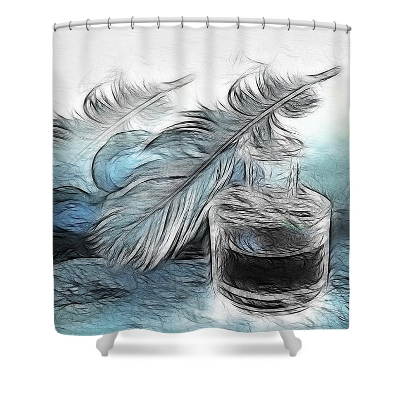 Spring Shower Curtain featuring the photograph Spring by Manfred Lutzius