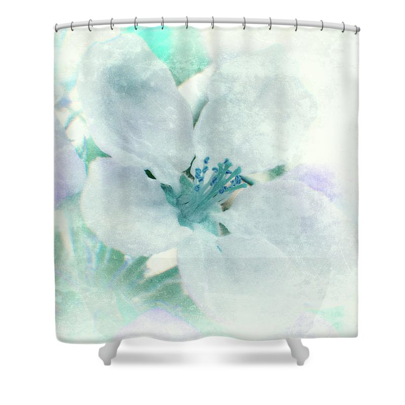 Flower Shower Curtain featuring the photograph Spring Mood by Lali Kacharava