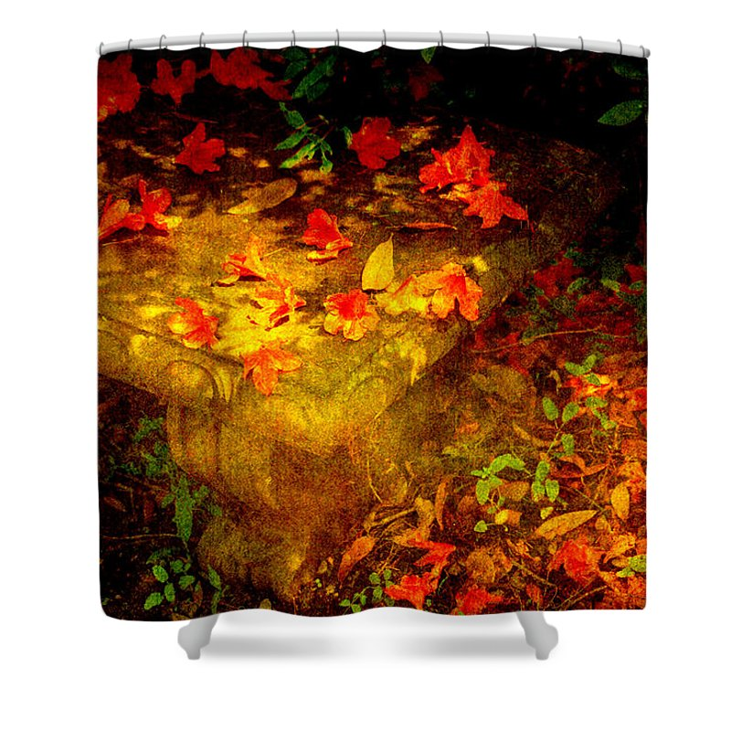 Flower Shower Curtain featuring the photograph Spring Or Autumn by Susanne Van Hulst