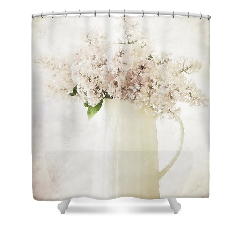 Flowers Shower Curtain featuring the photograph Spring Pleasures by Cindy McDonald