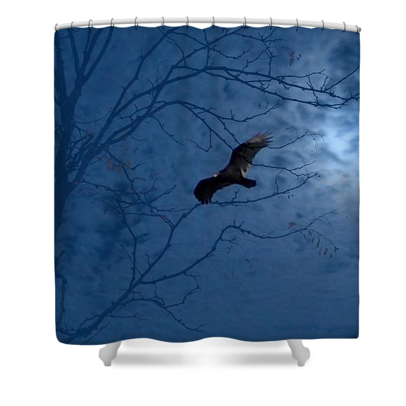 Shower Curtain featuring the photograph Sprit In The Sky by Luciana Seymour