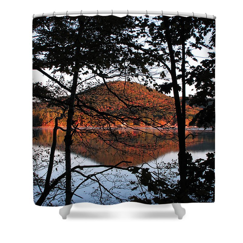 Big Squam Lake Shower Curtain featuring the photograph Squam Lake 1 by Michael Mooney