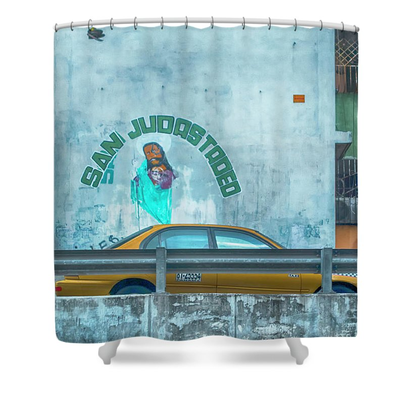 St Jude Shower Curtain featuring the photograph St Jude by Jessica Levant